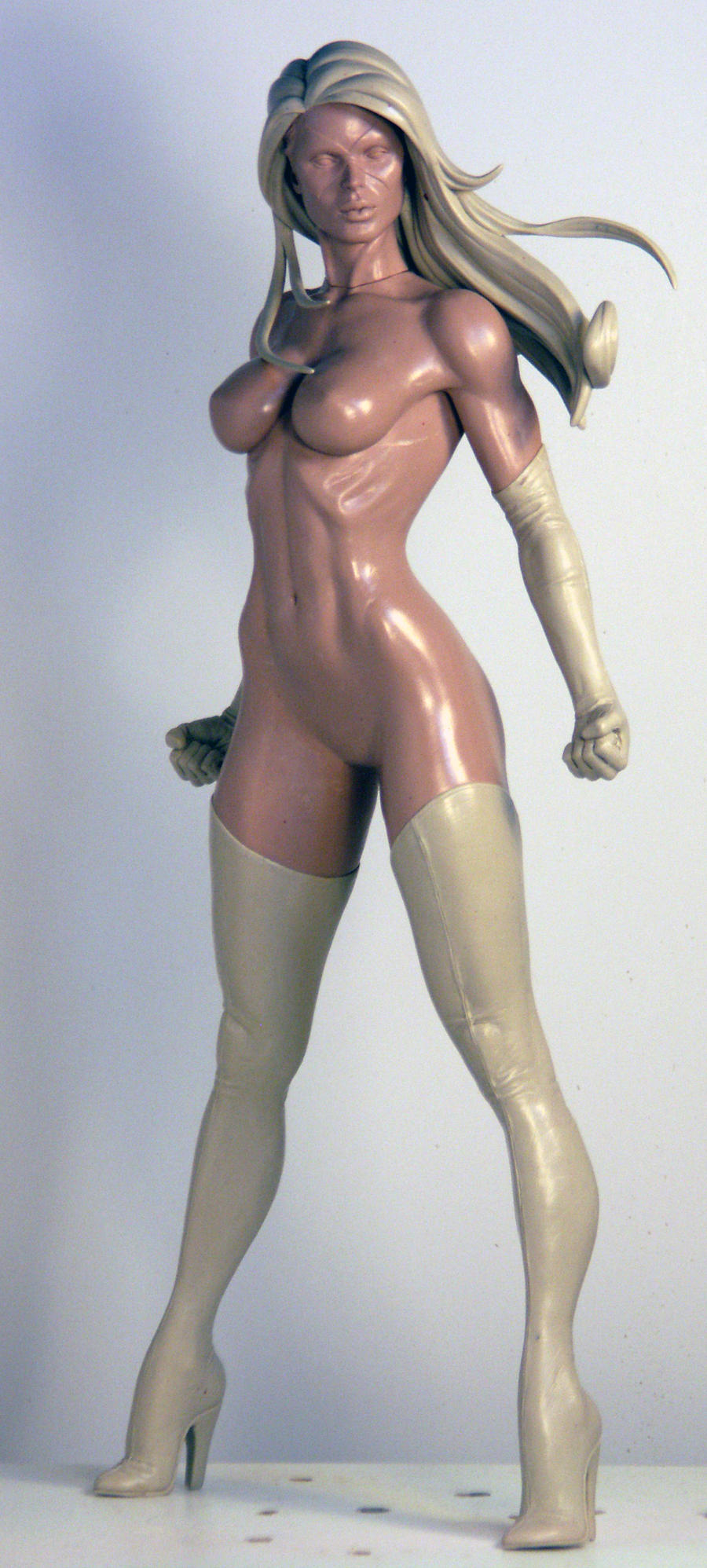 Ms Marvel Alt Head by TKMillerSculpt