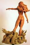 Goblin Queen WIP Back w_base