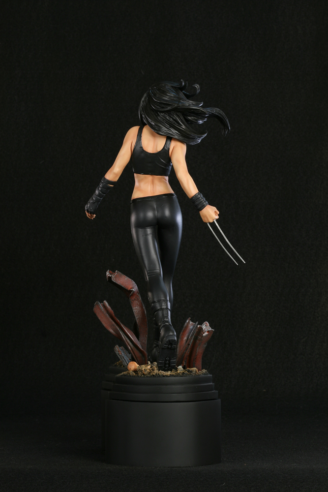 X-23 Paint Backside by TKMillerSculpt