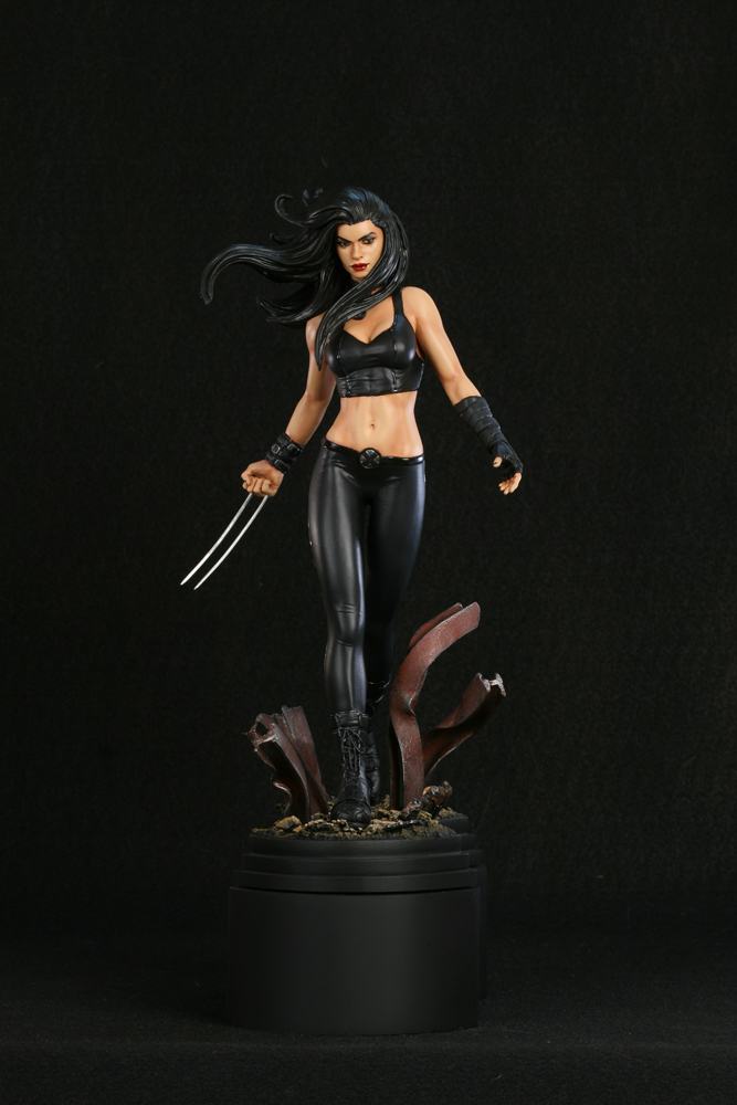 X-23 Painted by TKMillerSculpt