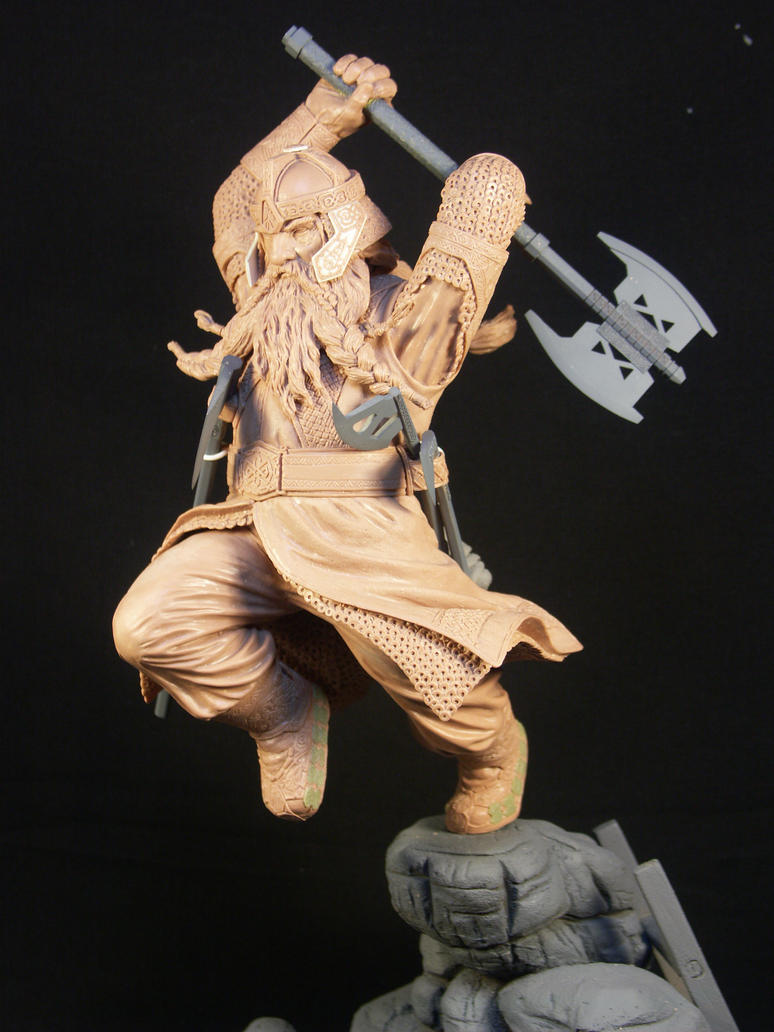 Gimli Raw by TKMillerSculpt