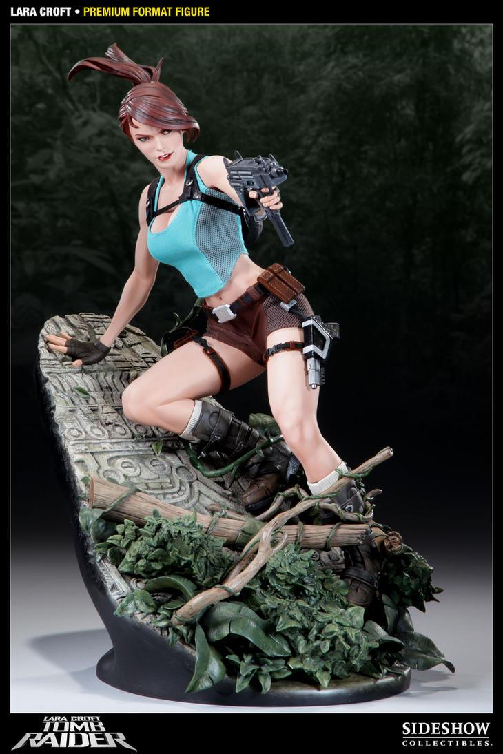 AH Lara Croft Premium Format by TKMillerSculpt