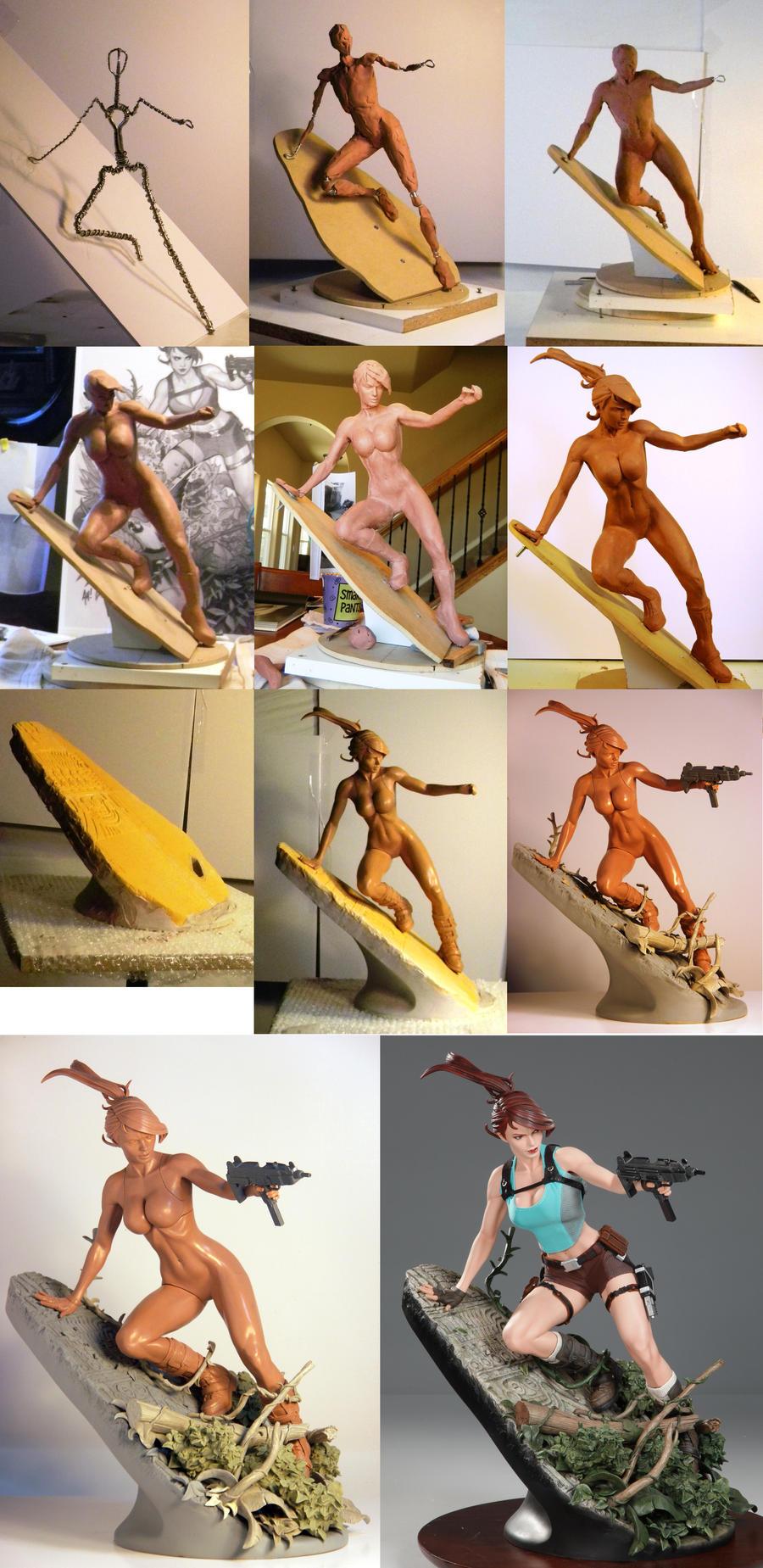 Lara croft nude figure nude gallery