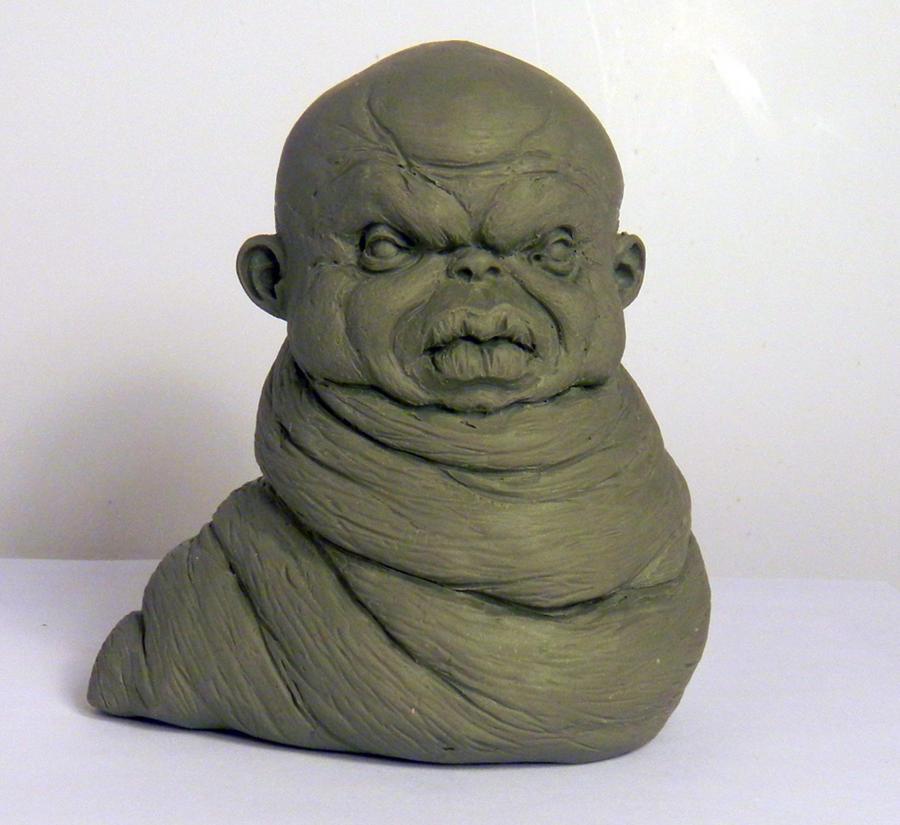Maggot by TKMillerSculpt
