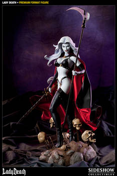 Lady Death Premium Format Statue