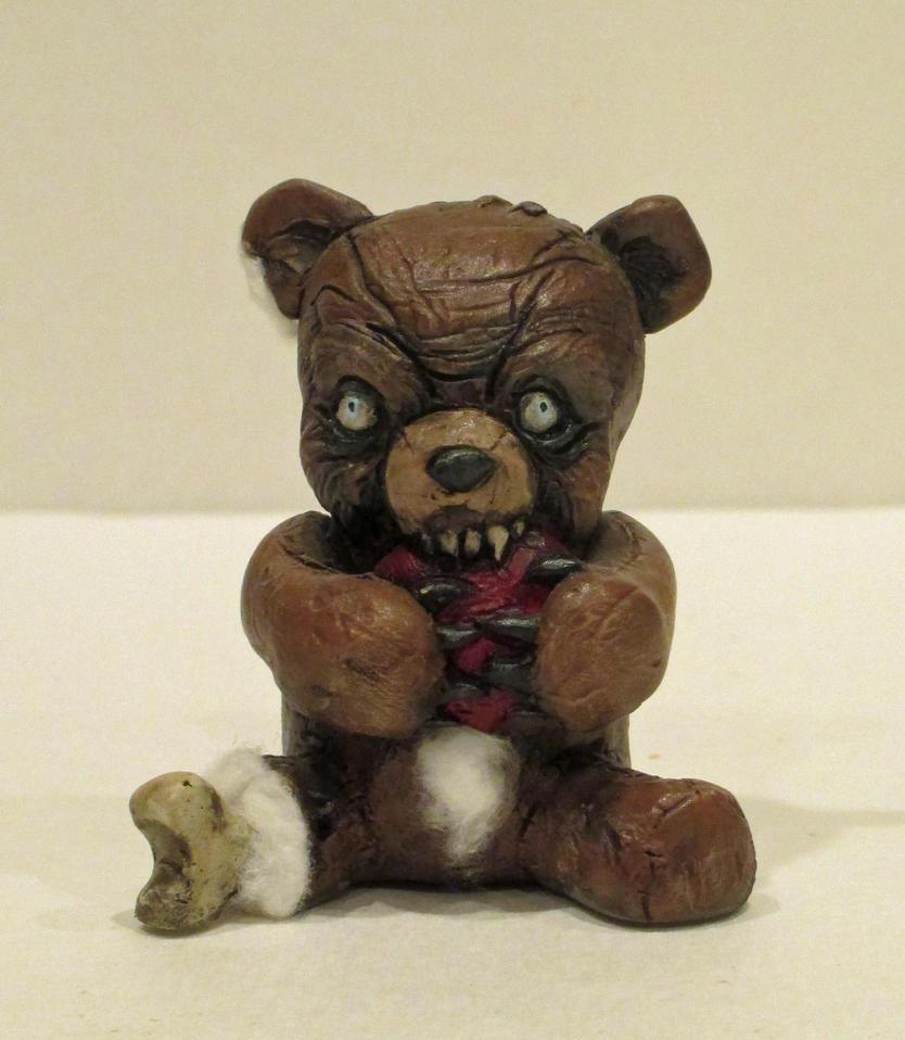 TeddyScare 001 by TKMillerSculpt