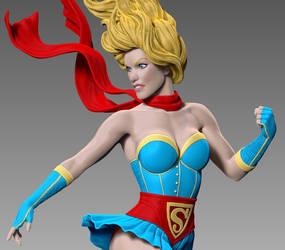 Bombshell Celebration Supergirl