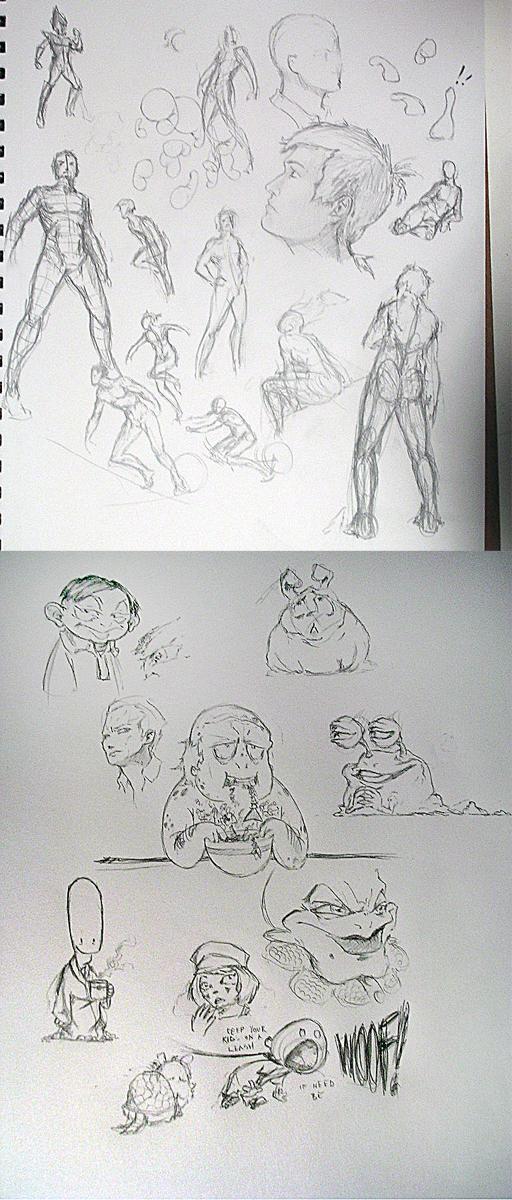 ♥ Ian Barker's Sketchbook ♥