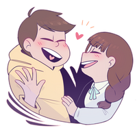 Jyushimatsu and The Girlfriend by DasuDesu