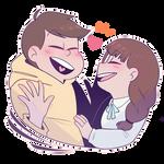 Jyushimatsu and The Girlfriend