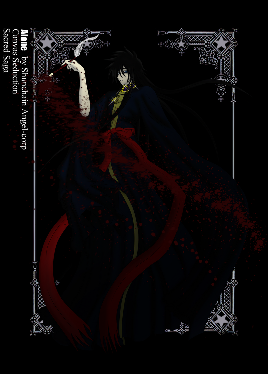 Sacred Saga Fanart Sacred_saga_alone_by_angel_corp-d45li8r
