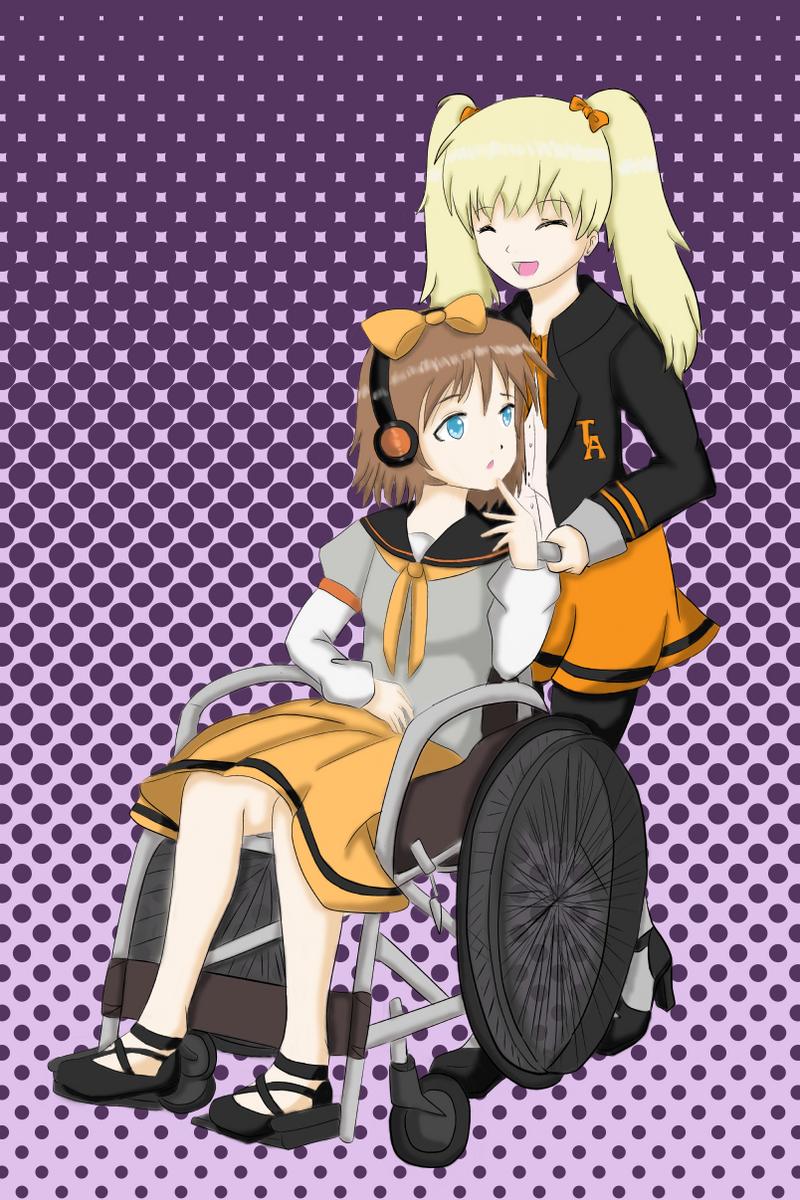 Jasmine and Sakiko by vicfania8855