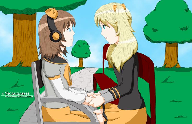 Sakiko Talking to Jasmine by vicfania8855