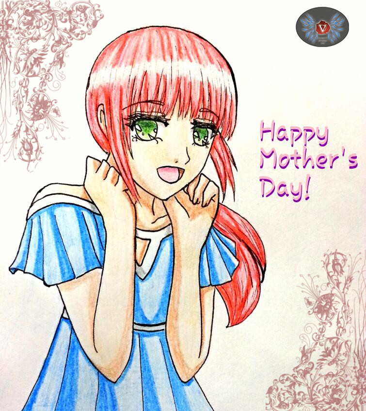 Holiday Series- Happy Mother's Day Girl Akari by vicfania8855