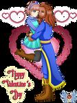 [HS] 2017- Happy Valentine's Day Mika x Dervon by vicfania8855