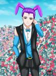 Holiday Series '18- Easter Bunny Shingeru by vicfania8855