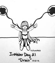 Inktober 2018- Day 21 Drain by vicfania8855
