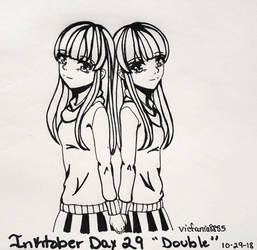 Inktober 2018- Day 29 Double