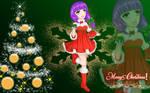Holiday Series 2018- Merry Christmas Girl Umi by vicfania8855