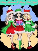 [AOHC] Secret Santa 2018+2019 HS New Year girls