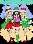 [AOHC] Secret Santa 2018+2019 HS New Year girls by vicfania8855