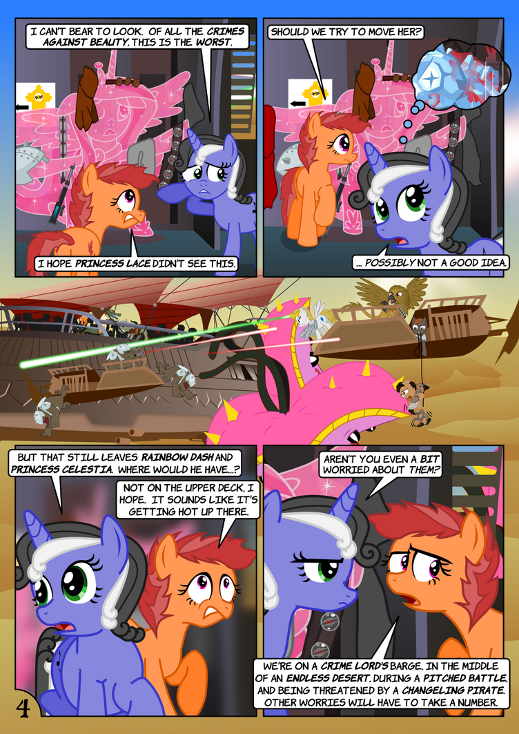 Star Mares 3.2.4: Get In Line by ChrisTheS