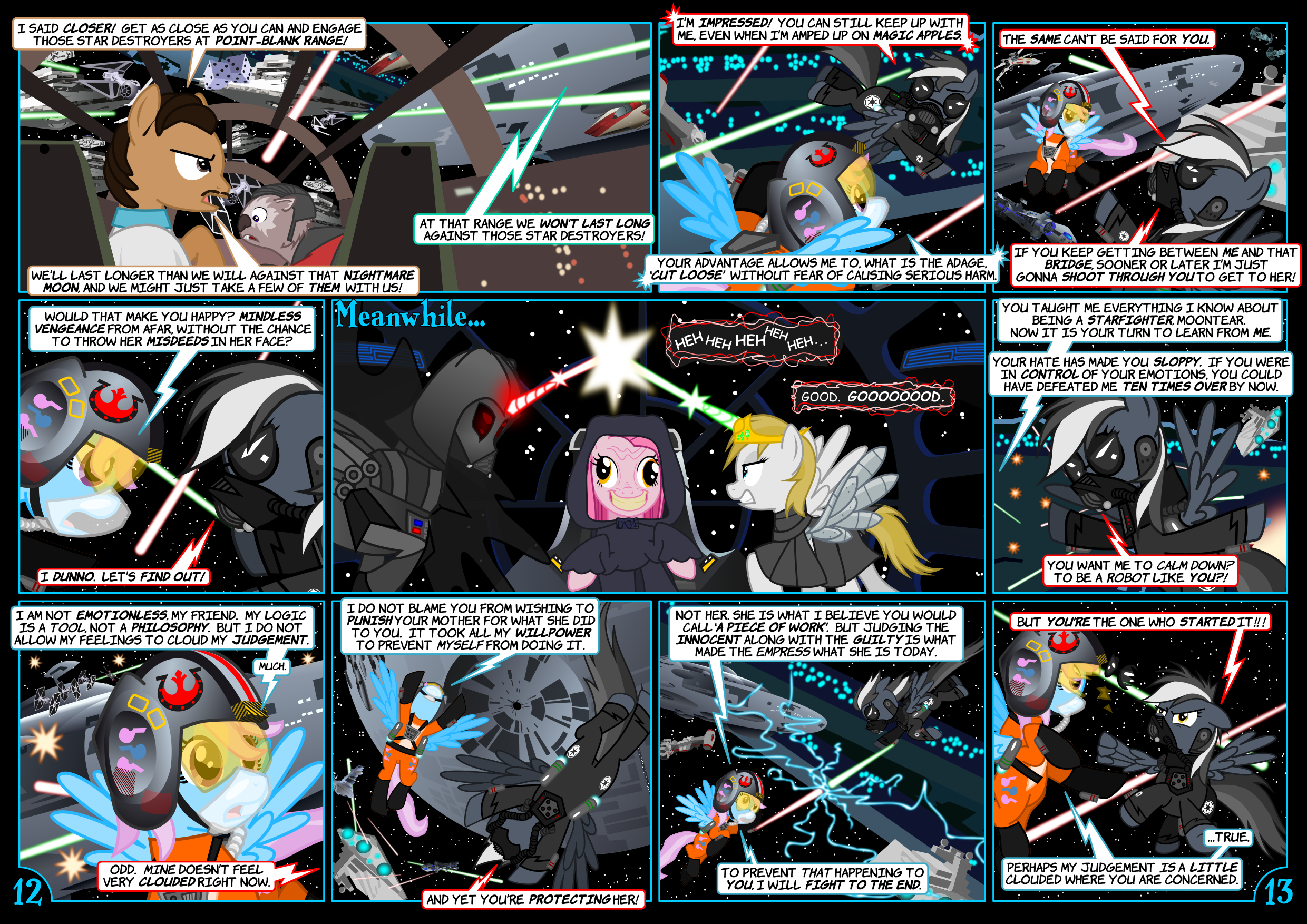 Star Mares 3.4.12-13: Really Most Illogical