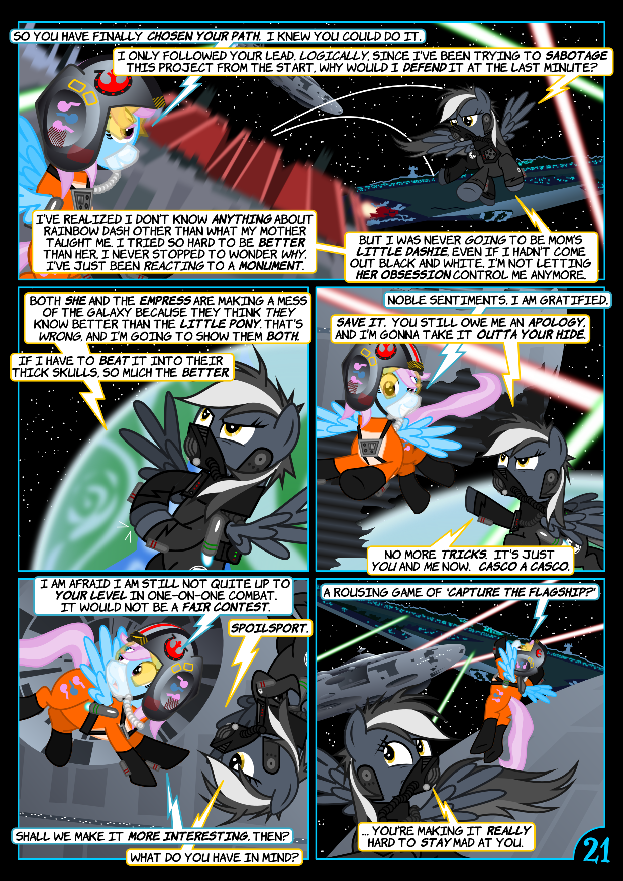Star Mares 3.4.21: Aggressive Negotiations