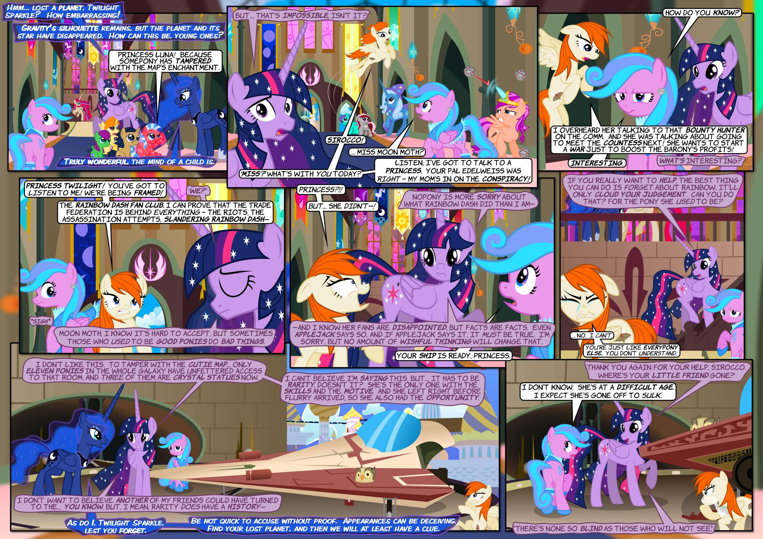 The Pone Wars 1.11: Lead a Horse to Water