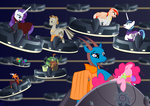 The Pone Wars #1 - Clean Cover