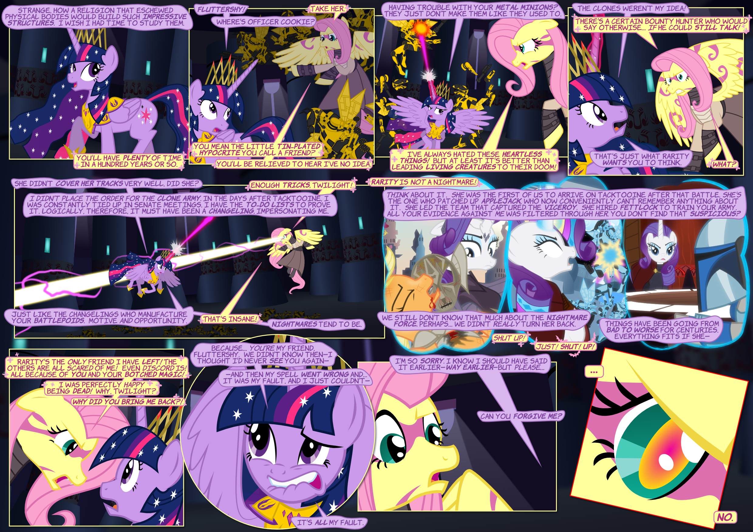 The Pone Wars 5.12-13: Better 600 Years Late...