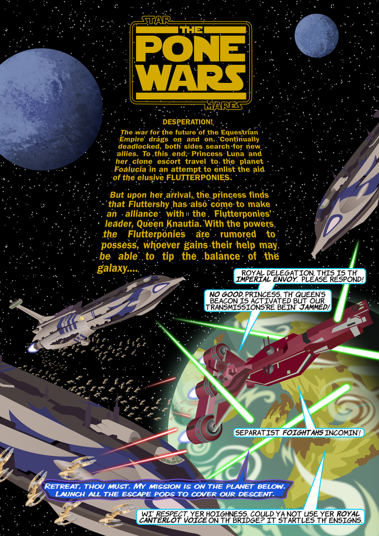 The Pone Wars 6.1: Ambush by ChrisTheS