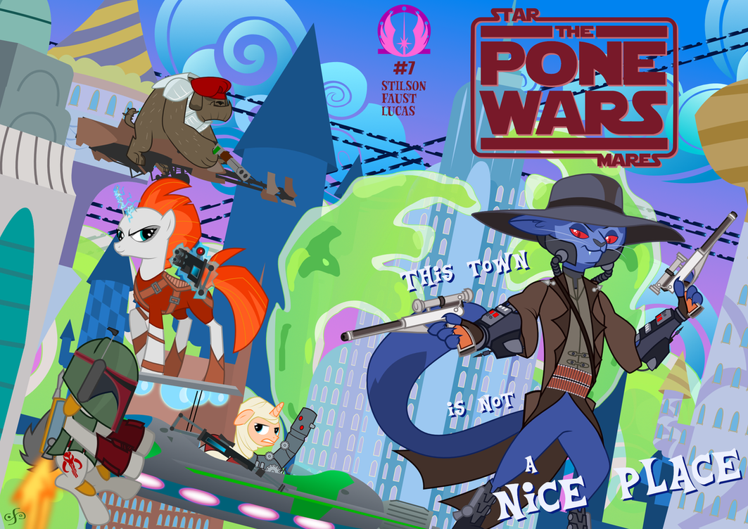 The Pone Wars #7: You Smooze You Looze, Part II by ChrisTheS
