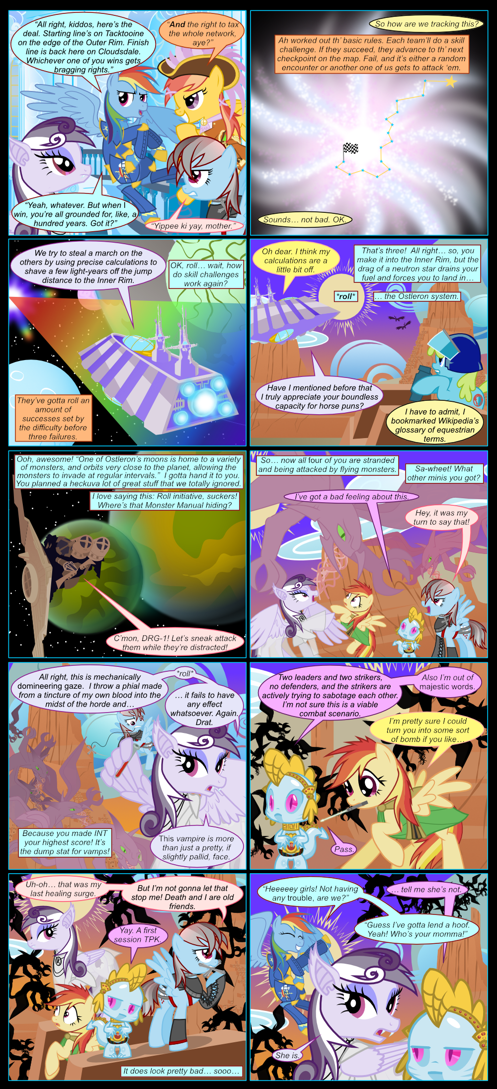 The Great Hyperspace Friendship Problem, Part 2 by ChrisTheS