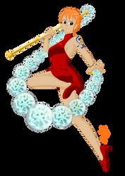 Nami, Self-Proclaimed Goddess of Thunder