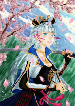 Ayaka Under the Sakura