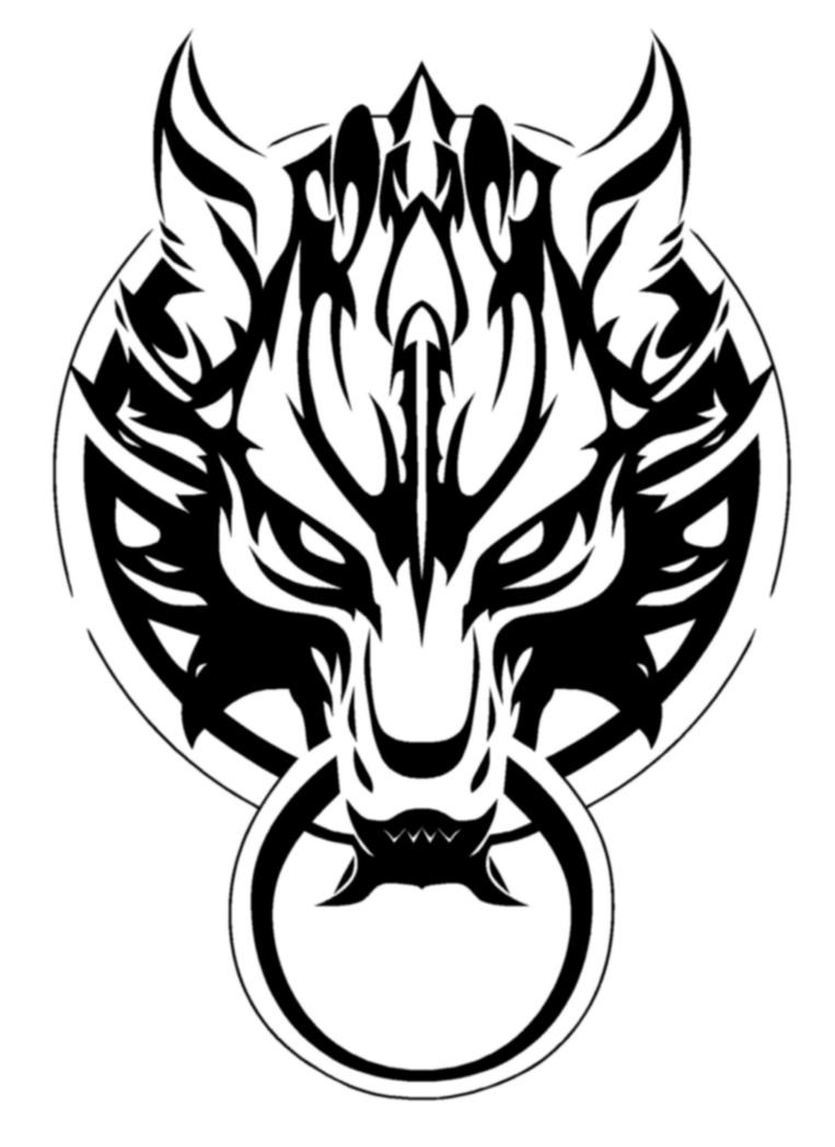 Fenrir wolf symbol - photo#29