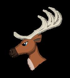 Helbi the Reindeer by Black-Helbi