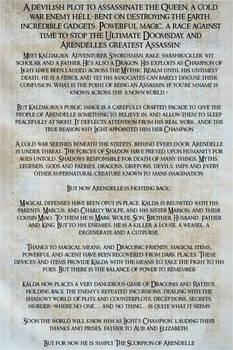 War of the North Frozen Memories updated summary