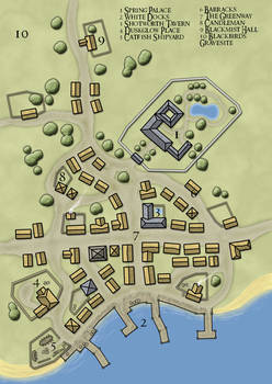 Map of Catfishtown