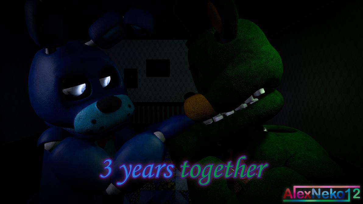 [SFM - FNAF - OC's] Yoshlex - 3 years by alexneko12