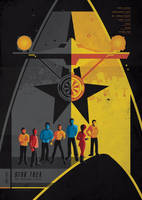 STAR TREK ALL CHARACTERS by bensposters