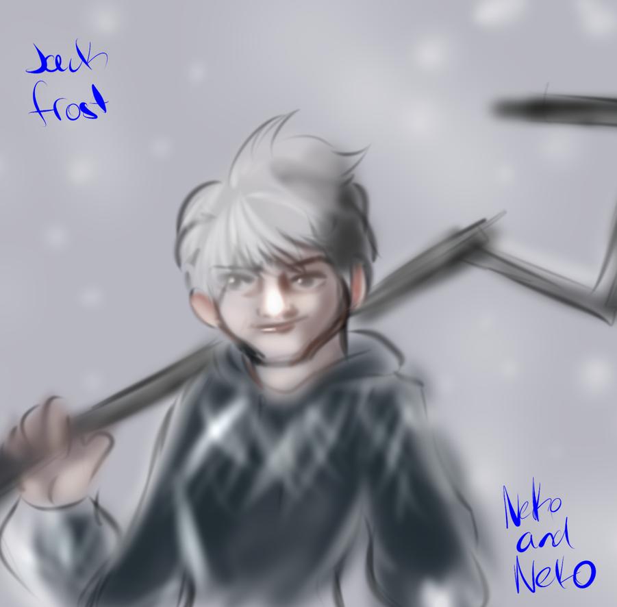 jack frost fan art by neko-and-neko
