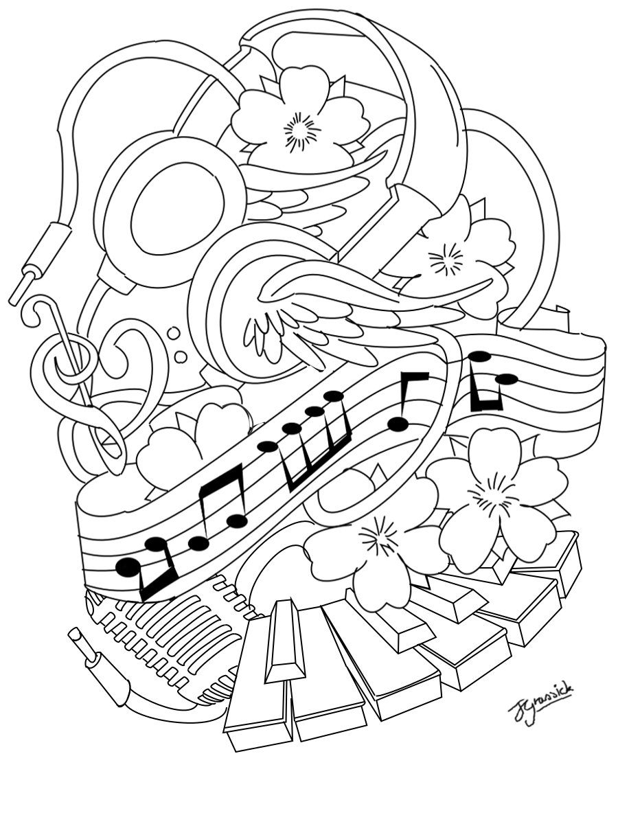 Koi fish coloring pages for adults coloring pages for Sketch online free