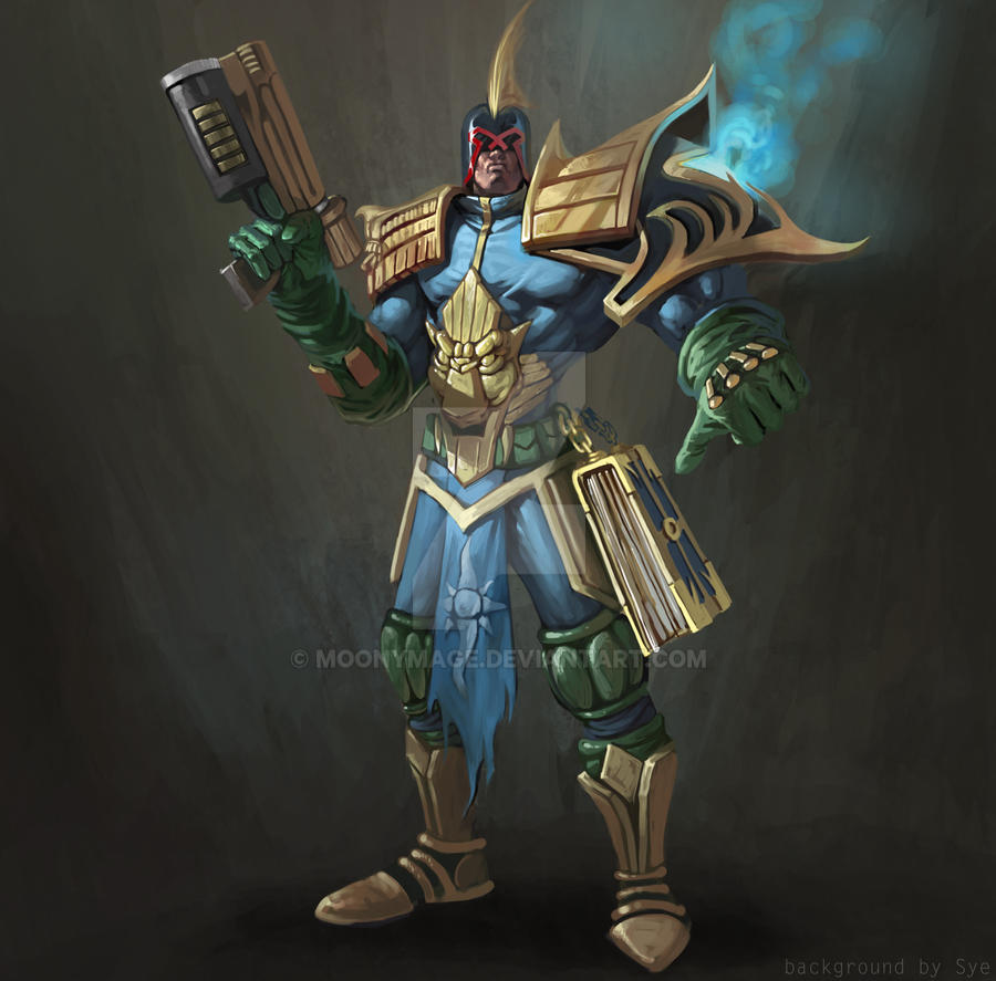 Background Touch-up: Vindicator alternative avatar by Moonymage