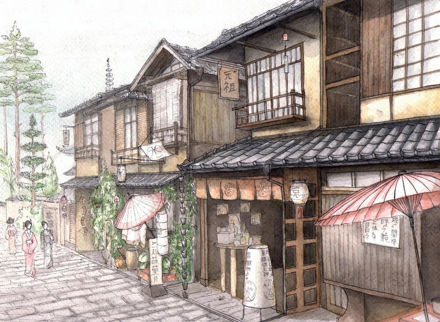 Kyoto by Rei-tanna