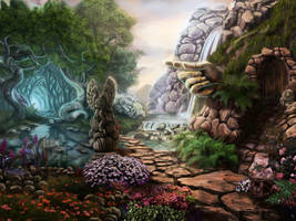 Pathway by Rei-tanna