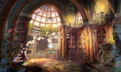 Library by Rei-tanna