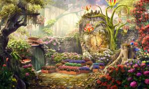 Inner yard by Rei-tanna