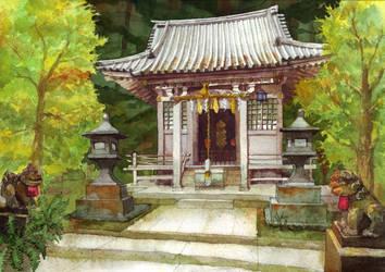 Shrine by Rei-tanna